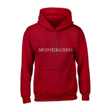 Load image into Gallery viewer, Monergism Cross - The Reformed Sage - reformed - reformed gifts - christian gifts - christian hoodie - christian apparel - christian decor - christian art -