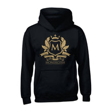 Load image into Gallery viewer, Monergism Emblem - Hoodie - The Reformed Sage - reformed - reformed gifts - christian gifts - christian hoodie - christian apparel - christian decor - christian art -