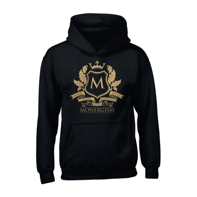 Monergism Emblem - Hoodie - The Reformed Sage - reformed - reformed gifts - christian gifts - christian hoodie - christian apparel - christian decor - christian art -