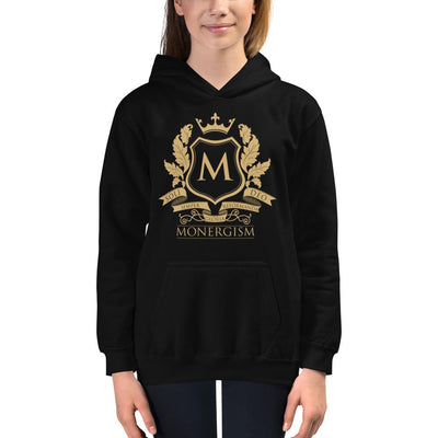 Monergism - Kids Hoodie - The Reformed Sage - reformed - reformed gifts - christian gifts - christian hoodie - christian apparel - christian decor - christian art -