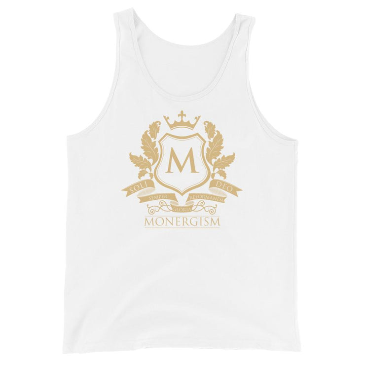 Monergism - Tank - The Reformed Sage - reformed - reformed gifts - christian gifts - christian hoodie - christian apparel - christian decor - christian art -
