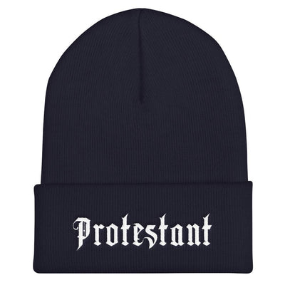 Protestant - Beanie - Beanie - The Reformed Sage - #reformed# - #reformed_gifts#