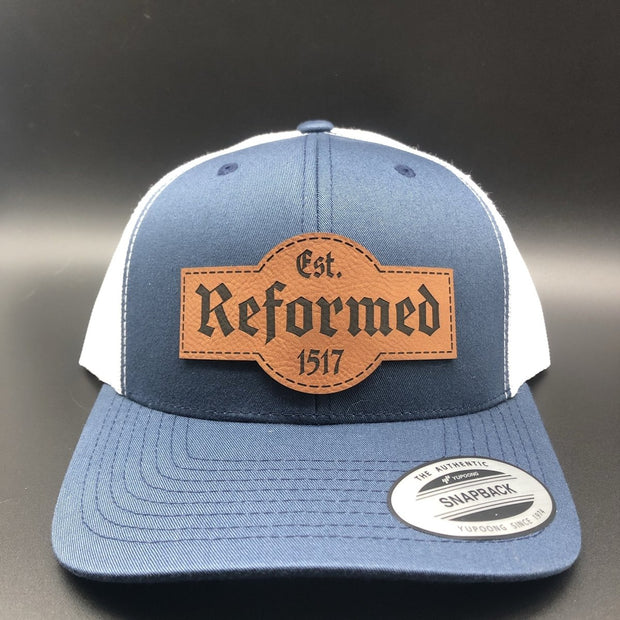 Reformed Est. 1517 - Hat - The Reformed Sage - reformed - reformed gifts - christian gifts - christian hoodie - christian apparel - christian decor - christian art -