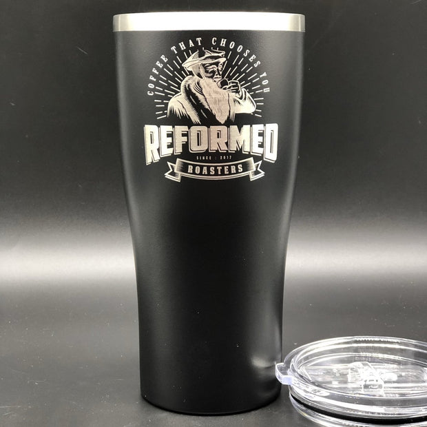 Reformed Roasters - 20oz tumbler partner - The Reformed Sage - reformed - reformed gifts - christian gifts - christian hoodie - christian apparel - christian decor - christian art -