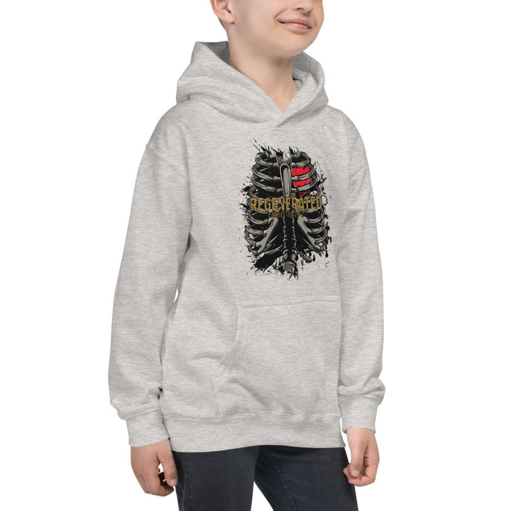 Regnerated - Kids Hoodie - The Reformed Sage - reformed - reformed gifts - christian gifts - christian hoodie - christian apparel - christian decor - christian art -
