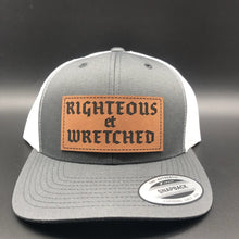 Load image into Gallery viewer, Righteous et Wretched - Hat - The Reformed Sage - reformed - reformed gifts - christian gifts - christian hoodie - christian apparel - christian decor - christian art -