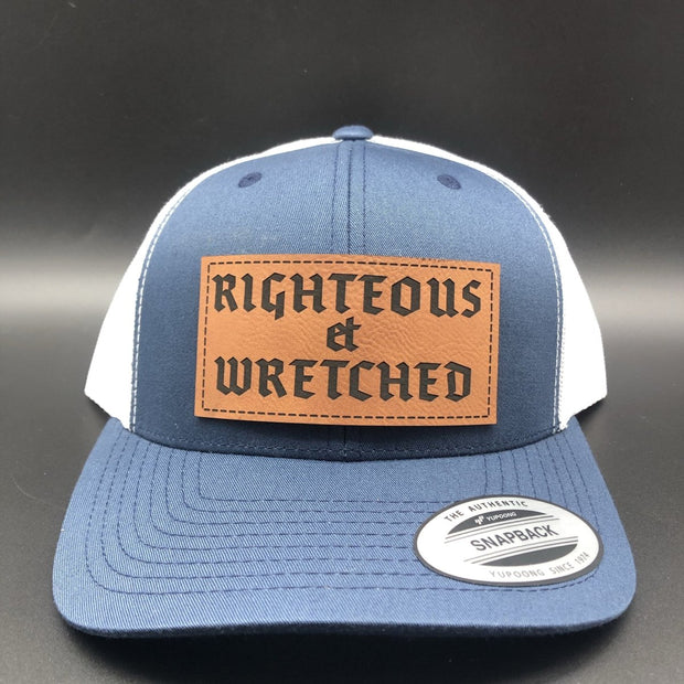 Righteous et Wretched - Hat - The Reformed Sage - #reformed# - #reformed_gifts#