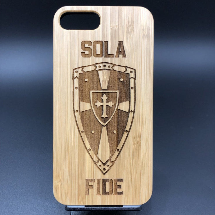 Sola Fide - Engraved - ECPC - The Reformed Sage - reformed - reformed gifts - christian gifts - christian hoodie - christian apparel - christian decor - christian art -