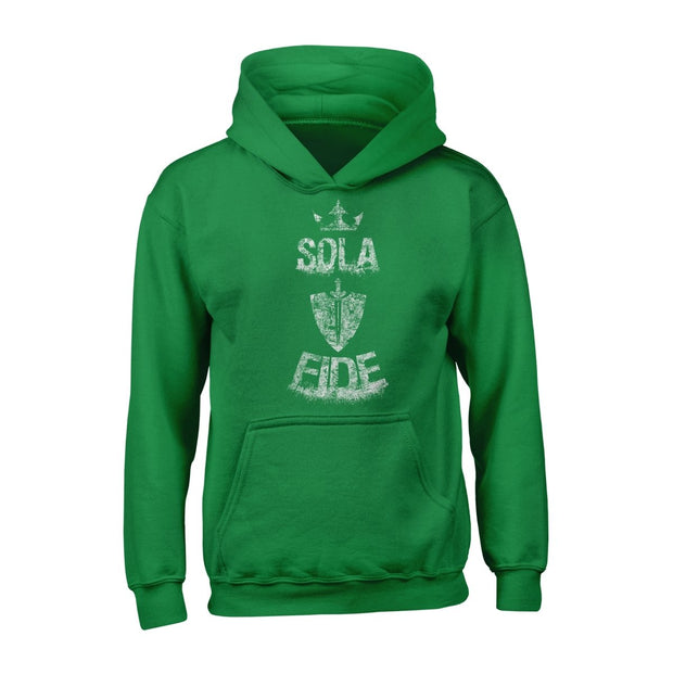 Sola Fide - Hoodie - Hoodie - The Reformed Sage - reformed - reformed gifts - christian gifts - christian hoodie - christian apparel - christian decor - christian art -