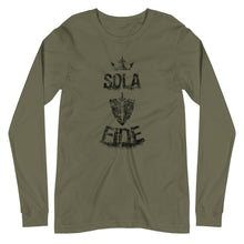 Load image into Gallery viewer, Sola Fide - Long Sleeve - The Reformed Sage - reformed - reformed gifts - christian gifts - christian hoodie - christian apparel - christian decor - christian art -