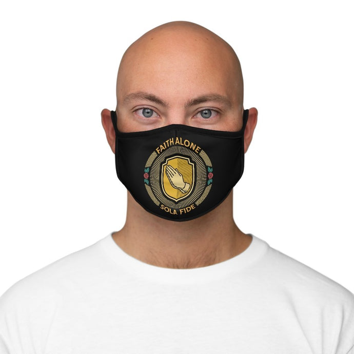 Sola Fide Seal - Mask - Accessories - The Reformed Sage - reformed - reformed gifts - christian gifts - christian hoodie - christian apparel - christian decor - christian art -