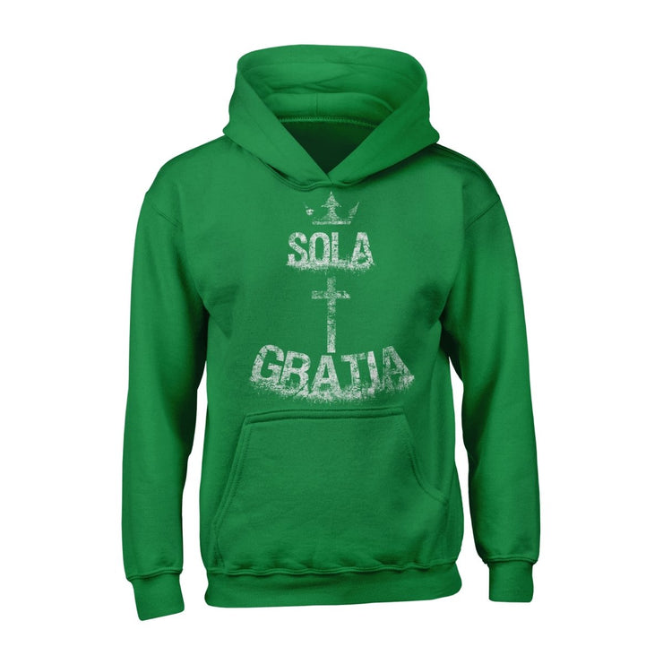 Sola Gratia - Hoodie - Hoodie - The Reformed Sage - reformed - reformed gifts - christian gifts - christian hoodie - christian apparel - christian decor - christian art -