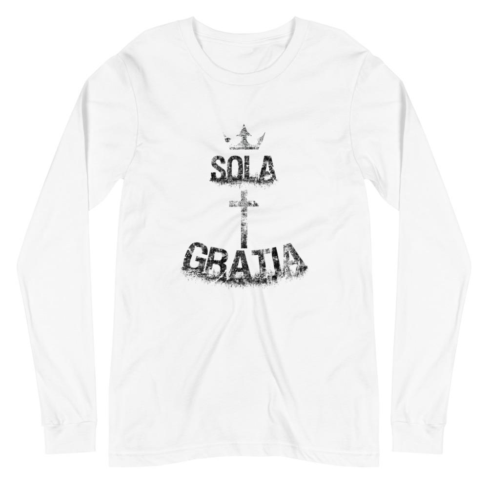 Sola Gratia - Long Sleeve - The Reformed Sage - reformed - reformed gifts - christian gifts - christian hoodie - christian apparel - christian decor - christian art -