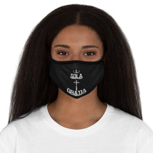 Load image into Gallery viewer, Sola Gratia - Mask - Accessories - The Reformed Sage - reformed - reformed gifts - christian gifts - christian hoodie - christian apparel - christian decor - christian art -