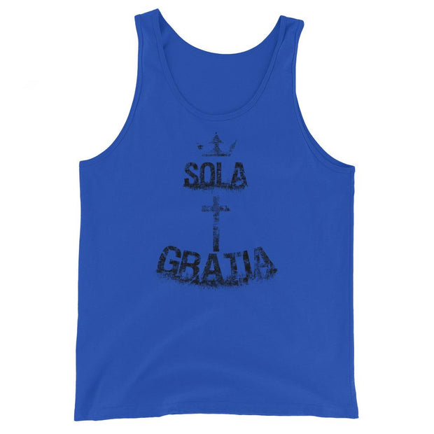 Sola Gratia - Tank - The Reformed Sage - reformed - reformed gifts - christian gifts - christian hoodie - christian apparel - christian decor - christian art -