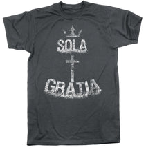 Load image into Gallery viewer, Sola Gratia - Tee - Shirt - The Reformed Sage - reformed - reformed gifts - christian gifts - christian hoodie - christian apparel - christian decor - christian art -