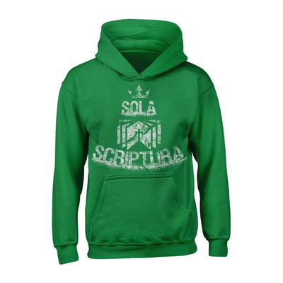 Sola Scriptura - Hoodie - Hoodie - The Reformed Sage - reformed - reformed gifts - christian gifts - christian hoodie - christian apparel - christian decor - christian art -