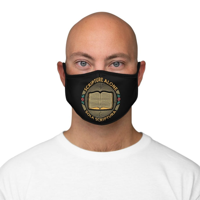 Sola Scriptura Seal - Mask - Accessories - The Reformed Sage - reformed - reformed gifts - christian gifts - christian hoodie - christian apparel - christian decor - christian art -