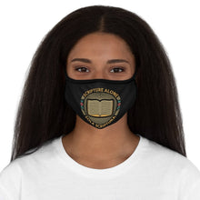 Load image into Gallery viewer, Sola Scriptura Seal - Mask - Accessories - The Reformed Sage - reformed - reformed gifts - christian gifts - christian hoodie - christian apparel - christian decor - christian art -
