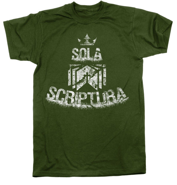 Sola Scriptura - Tee - Shirt - The Reformed Sage - reformed - reformed gifts - christian gifts - christian hoodie - christian apparel - christian decor - christian art -