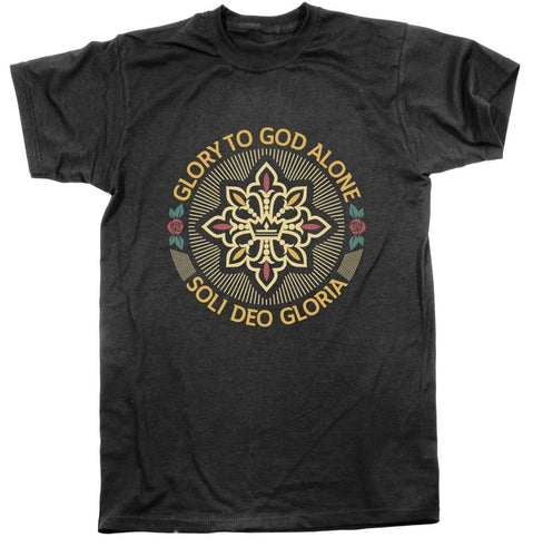 Soli Deo Gloria Seal - Tee - Shirt - The Reformed Sage - reformed - reformed gifts - christian gifts - christian hoodie - christian apparel - christian decor - christian art -