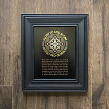 Load image into Gallery viewer, Soli Deo Gloria Seal - Wall Art - Printed Art - The Reformed Sage - reformed - reformed gifts - christian gifts - christian hoodie - christian apparel - christian decor - christian art -