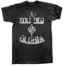 Load image into Gallery viewer, Soli Deo Gloria - Tee - Shirt - The Reformed Sage - reformed - reformed gifts - christian gifts - christian hoodie - christian apparel - christian decor - christian art -