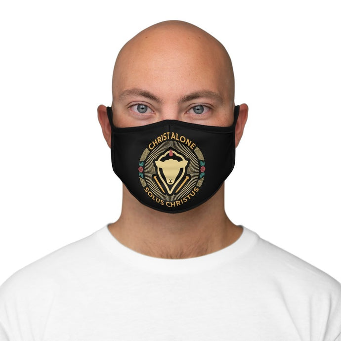 Solus Christus Seal - Mask - Accessories - The Reformed Sage - reformed - reformed gifts - christian gifts - christian hoodie - christian apparel - christian decor - christian art -