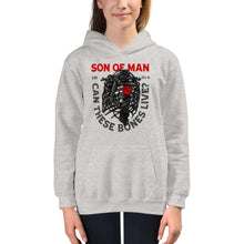 Load image into Gallery viewer, Son of Man - Kids Hoodie - The Reformed Sage - reformed - reformed gifts - christian gifts - christian hoodie - christian apparel - christian decor - christian art -