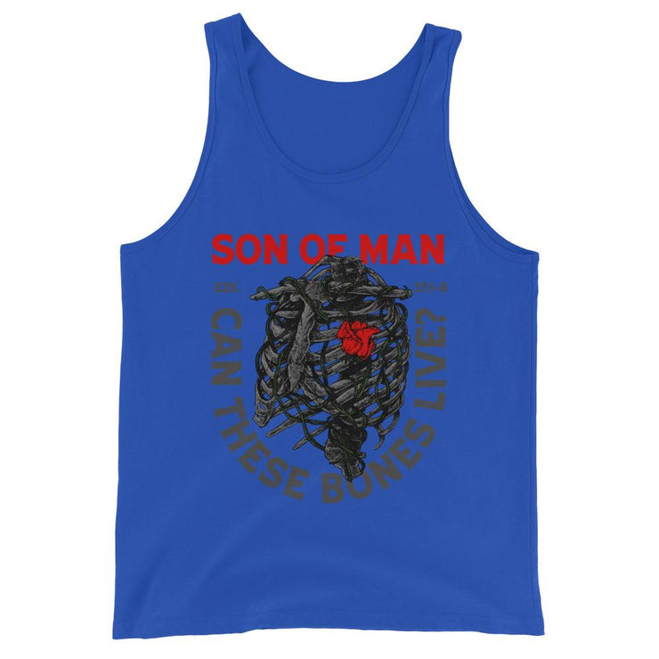 Son of Man - Tank - tank top - The Reformed Sage - reformed - reformed gifts - christian gifts - christian hoodie - christian apparel - christian decor - christian art -