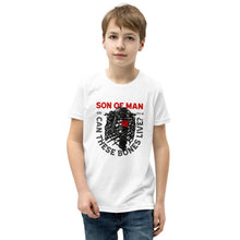 Load image into Gallery viewer, Son of Man - Youth T-Shirt - The Reformed Sage - reformed - reformed gifts - christian gifts - christian hoodie - christian apparel - christian decor - christian art -