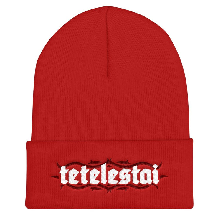Tetelestai - Beanie - Beanie - The Reformed Sage - #reformed# - #reformed_gifts#
