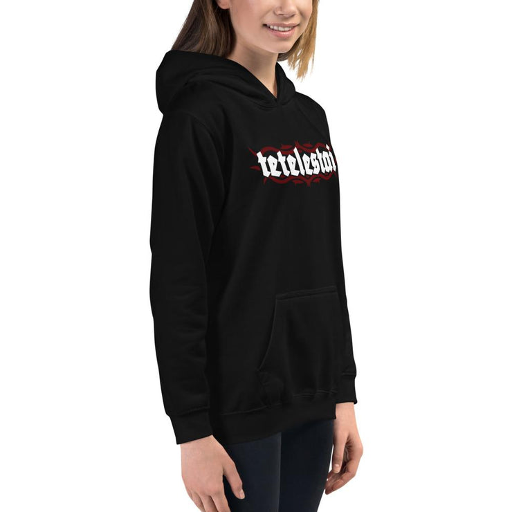 Tetelestai - Kids Hoodie - The Reformed Sage - reformed - reformed gifts - christian gifts - christian hoodie - christian apparel - christian decor - christian art -