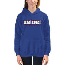 Load image into Gallery viewer, Tetelestai - Kids Hoodie - The Reformed Sage - reformed - reformed gifts - christian gifts - christian hoodie - christian apparel - christian decor - christian art -
