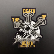 The Death of Death - Decal - Decal - The Reformed Sage - #reformed# - #reformed_gifts#