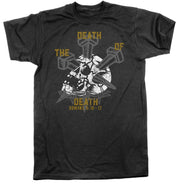 The Death of Death - Tee - Shirt - The Reformed Sage - reformed - reformed gifts - christian gifts - christian hoodie - christian apparel - christian decor - christian art -