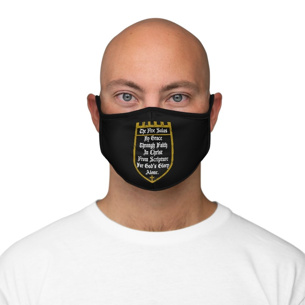 The Five Solas - Mask - Accessories - The Reformed Sage - reformed - reformed gifts - christian gifts - christian hoodie - christian apparel - christian decor - christian art -