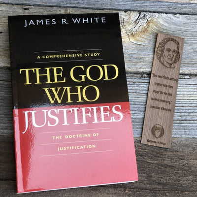 The God Who Justifies - Book - The Reformed Sage - reformed - reformed gifts - christian gifts - christian hoodie - christian apparel - christian decor - christian art -