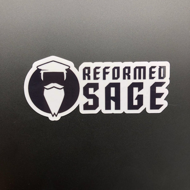 The Reformed Sage - Decal - Decal - The Reformed Sage - #reformed# - #reformed_gifts#