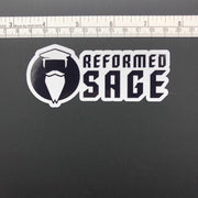 The Reformed Sage - Decal - Decal - The Reformed Sage - reformed - reformed gifts - christian gifts - christian hoodie - christian apparel - christian decor - christian art -
