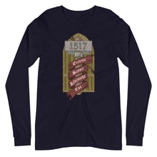 Load image into Gallery viewer, Unisex Long Sleeve Tee - The Reformed Sage - reformed - reformed gifts - christian gifts - christian hoodie - christian apparel - christian decor - christian art -