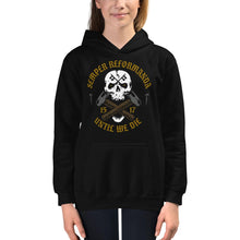 Load image into Gallery viewer, Until We Die - Kids Hoodie - The Reformed Sage - reformed - reformed gifts - christian gifts - christian hoodie - christian apparel - christian decor - christian art -
