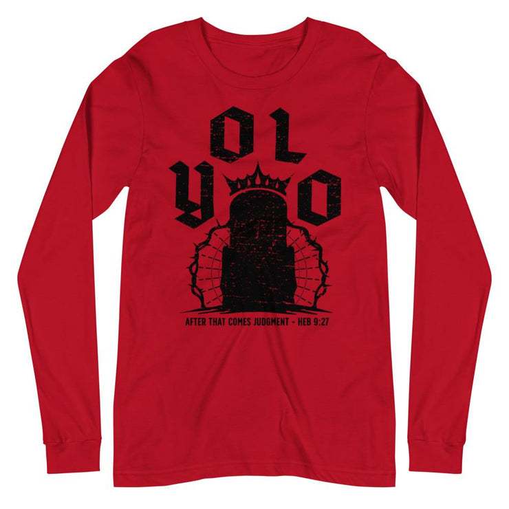 YOLO - Long Sleeve - The Reformed Sage - reformed - reformed gifts - christian gifts - christian hoodie - christian apparel - christian decor - christian art -