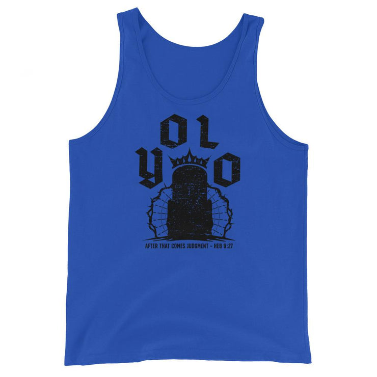 YOLO - Tank - The Reformed Sage - reformed - reformed gifts - christian gifts - christian hoodie - christian apparel - christian decor - christian art -