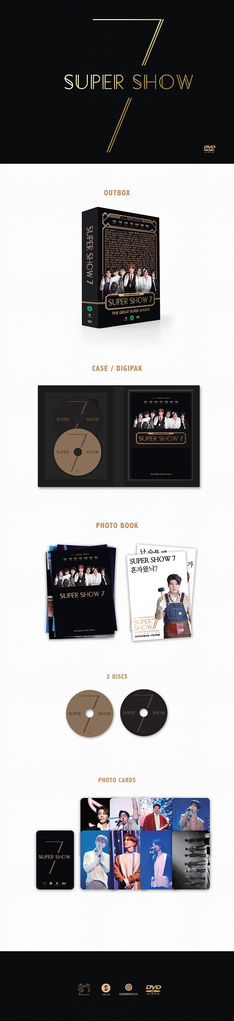 SUPER JUNIOR 'SUPER SHOW 7' DVD