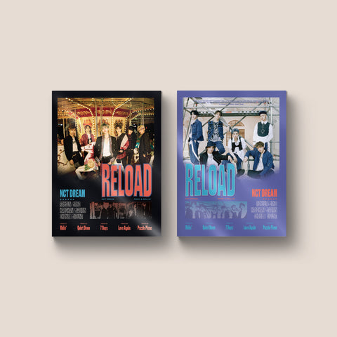 NCT DREAM 4TH MINI ALBUM 'RELOAD' + POSTER