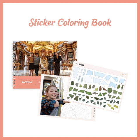 RED VELVET 'STICKER COLORING BOOK'