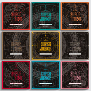 SUPER JUNIOR 10TH ALBUM 'THE RENAISSANCE' (SQUARE STYLE)