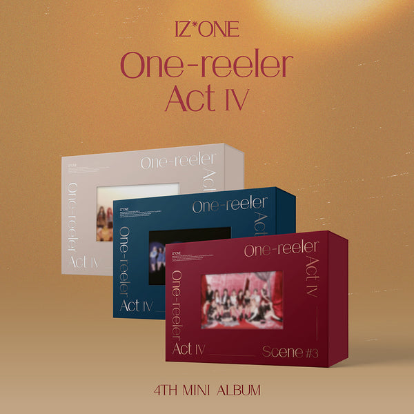 IZ*ONE 4TH MINI ALBUM 'ONE-REELER / ACT IV'