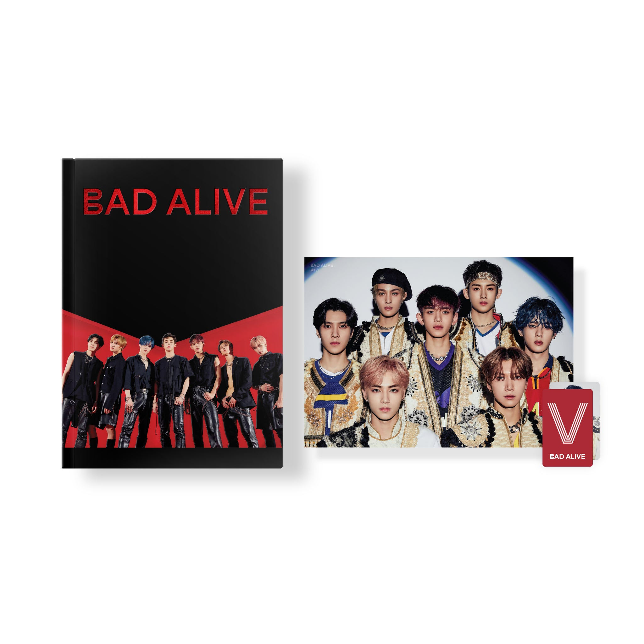 WAYV 'BAD ALIVE' PHOTO STORY BOOK